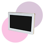 touchpanel for home automation app wall mounted