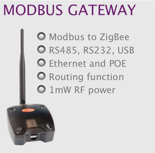 wireless monitoring and control modbus gateway