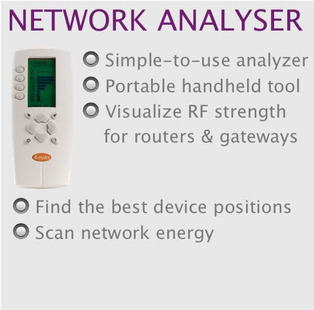 wireless monitoring and control network analyser