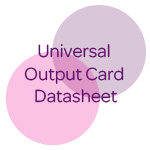 universal output card