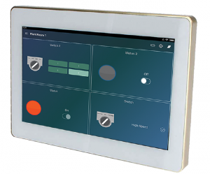 Touch Panel wall mounted for smart home automation